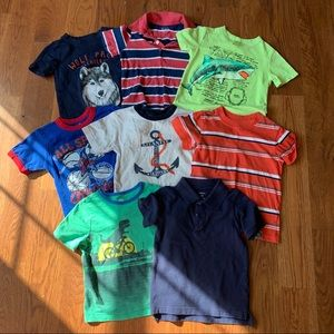 Lot of 8 baby boy 3T T-shirts